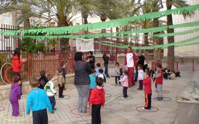 Participación en festivl de juegos infantil