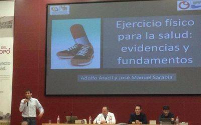 Curso sobre actividad física impartido a médicos