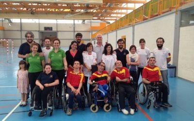 La Selección Española de Slalom en Silla de Ruedas en el CID