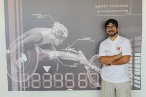 Raúl en  V Congreso Internacional de Actividad Física y Deporte Inclusivo