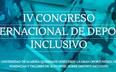 Raúl Reina en IV Congreso Internacional de Deporte Inclusivo