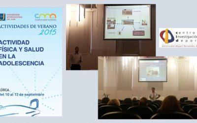 Vicente y David Curso AF y Salud Lorca