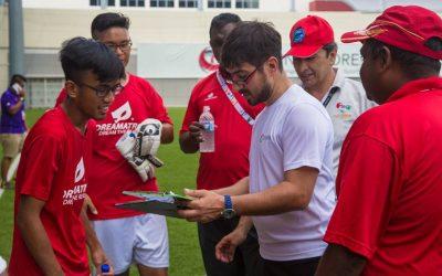 Raúl Reina clasificación Singapur