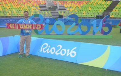 Raúl en Juegos de Rio