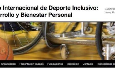 Raúl Reina ponente en VI Congreso Internacional de Deporte Inclusivo