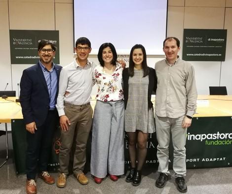 Premiadas dos tesis doctorales sobre deporte adaptado llevadas a cabo en el CID