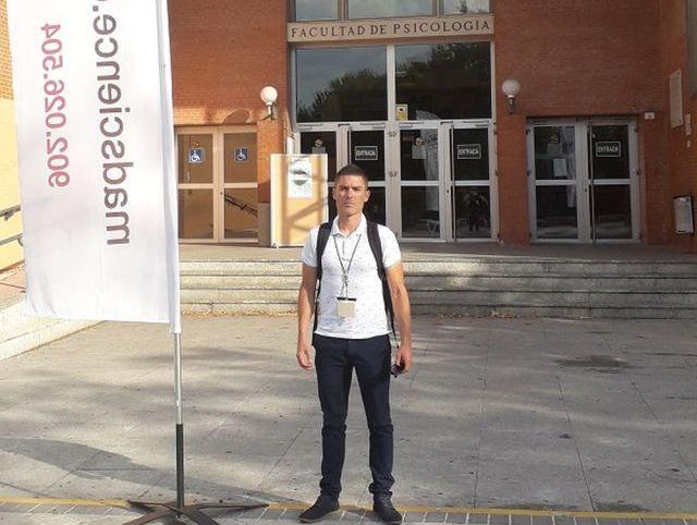 Agustín Manresa en el Congreso de Metodología y Ciencias del Comportamiento y de la Salud