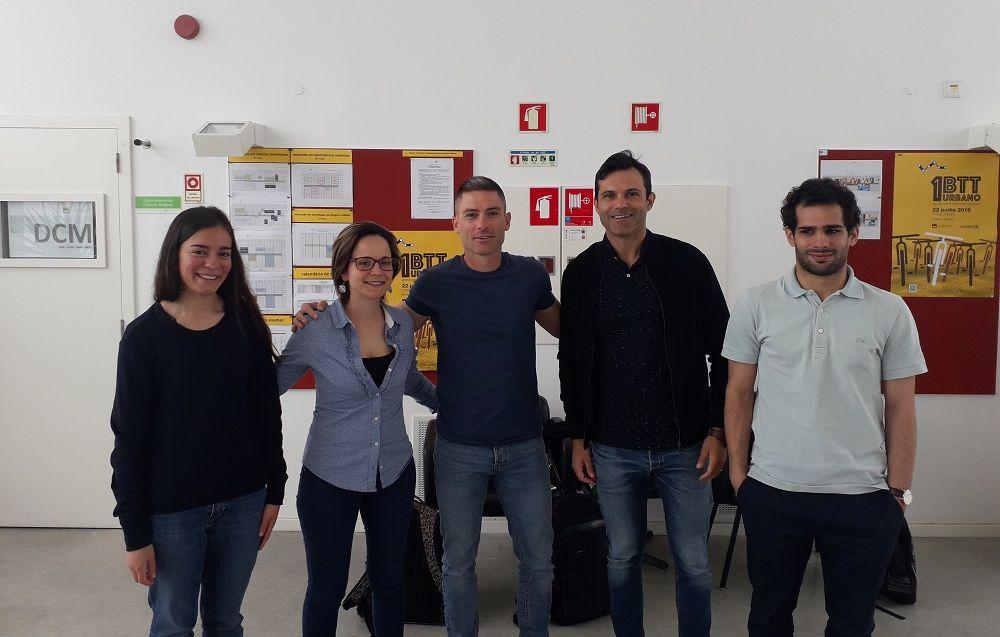 Estancia de Agustín Manresa en la Universidad de Aveiro