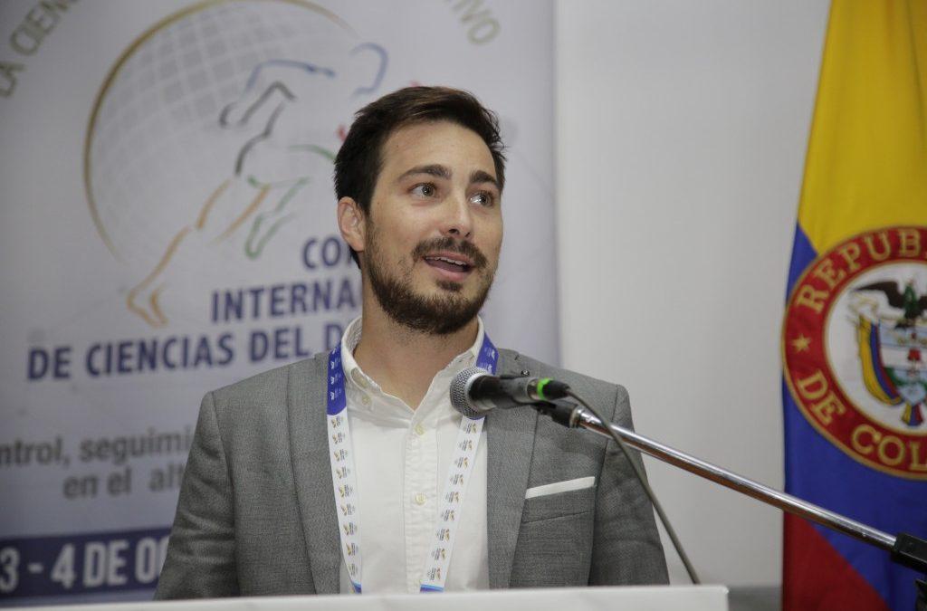 Alejandro Javaloyes ponente en el IX Congreso Internacional de Ciencias del Deporte en Bogotá