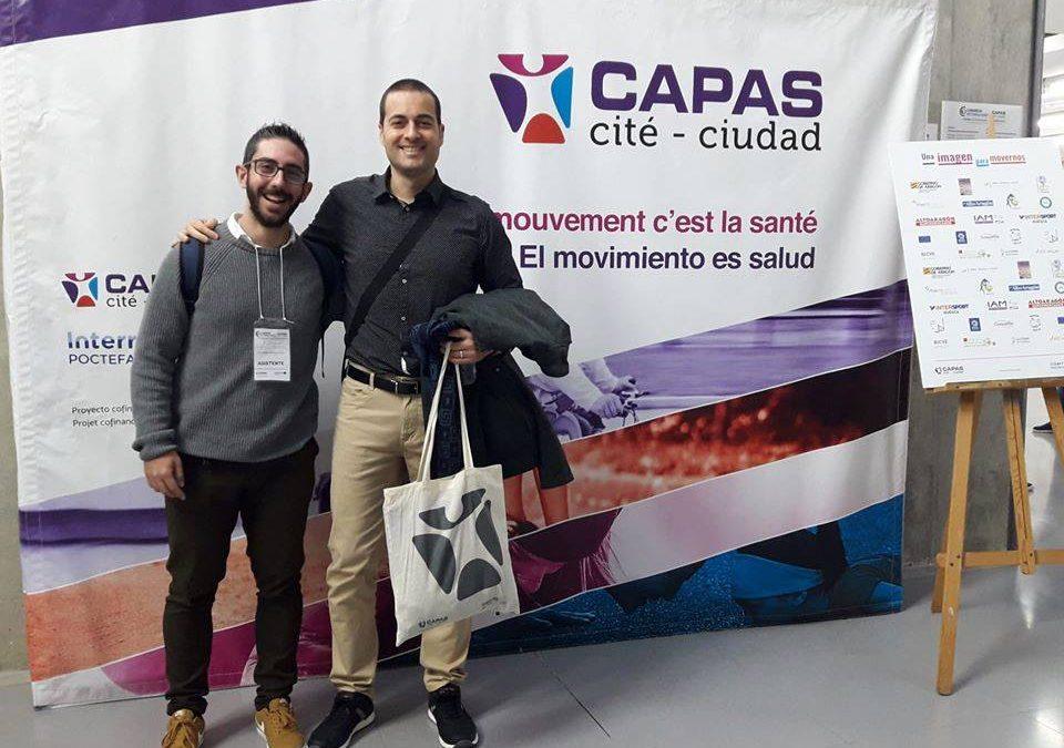 """Alejandro Jiménez y Vicente Beltrán participaron en el """"Congreso Internacional CAPAS-Ciudad. Liderazgo en la promoción de la actividad física"""""""