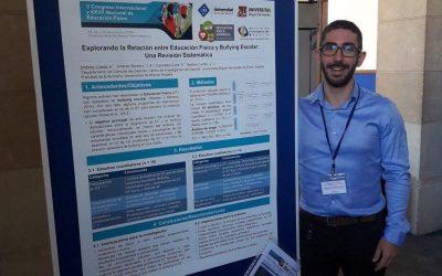 """Alejandro Jiménez presenta el trabajo «Explorando la relación entre educación física y bullying escolar: Una revisión sistemática"""""""