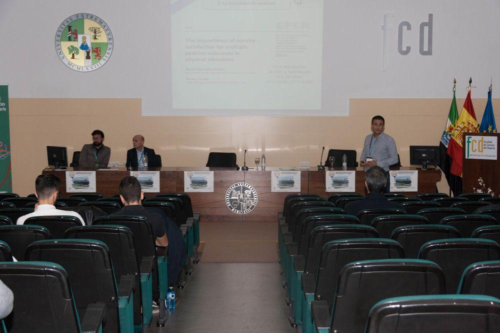 Varios ponentes del CID en el I Congreso Internacional de Innovación en el Deporte